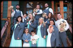 Claremore, OK Wedding The Hidden Porch in Catoosa, OK