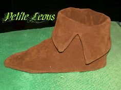 Peter Pan Costume Faux Suede Shoes Or Elf Robin Hood by Petiteleon, $35.99