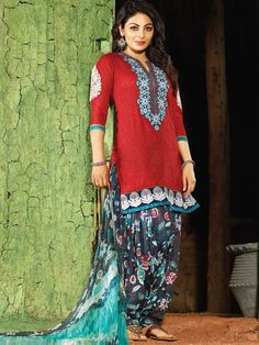 Cotton salwar kameez online is the now in the trend.Purchase one from Kalazone Silk Mill's online store