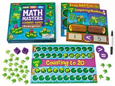 Math Masters Learning Games - Kindergarten at Lakeshore Learning