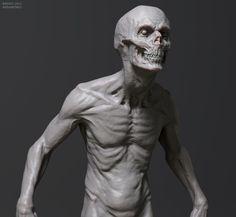 A creature I designed/modeled/textured for INSOMNIA RPG.