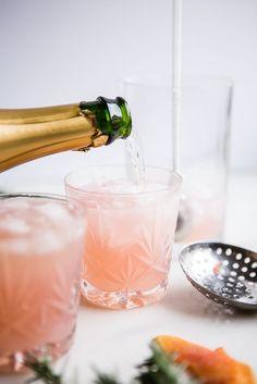 Grapefruit Cardamom Gin Fizz | The Modern Proper