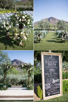 Stephanie Fay Photography specializes in Destination Weddings, Engagements, and Portrait Photography. Ceremony Decorations, Flower Decorations, Decor Wedding, Wedding Ceremony, Chalkboard Wedding, Arizona Wedding, Modern Calligraphy, Orange County, Portrait Photography