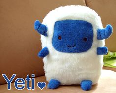 This is the cutest little yeti in the world!