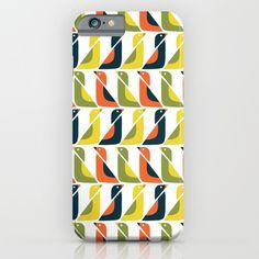 Simple, minimalist geometric pattern featuring ducks.<br/> <br/> geometric illustration, duck, bird...