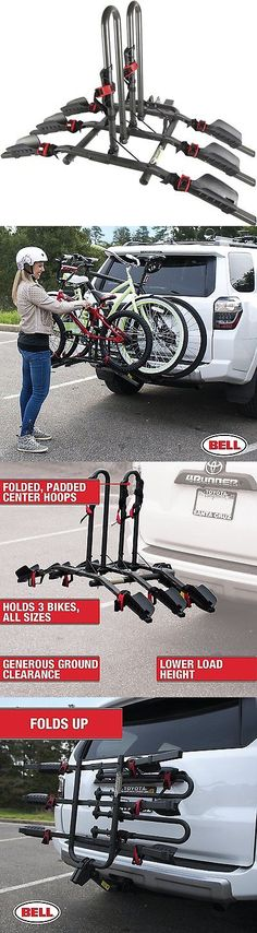 Car and Truck Racks 177849: Hitch Bike Rack Cargo Carrier Rear Mount Bicycle Stand Folding Holder Cycling -> BUY IT NOW ONLY: $158.52 on eBay!