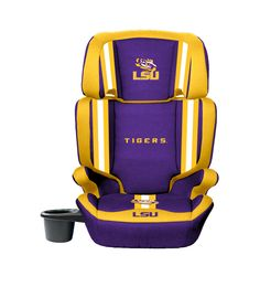 Lsu Tigers Convertible High Back Booster Car Seat