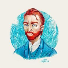 Vincent Willem van Gogh by Lera Kiryakova