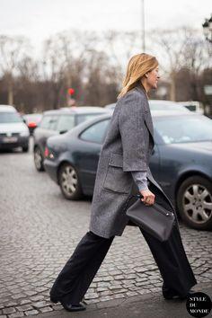 Virginia Smith Street Style Street Fashion Streetsnaps by STYLEDUMONDE Street Style Fashion Blog