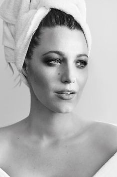 Blake also starred in Mario Testino's Towel Series. Photo: Instagram/mariotestino
