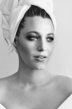 Blake also starred in Mario Testino's Towel Series. Photo: Instagram/mariotestino