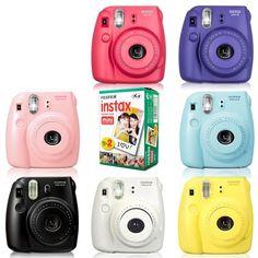 Poloroid Camera, Polaroid Instax Mini, Instax Camera, Fujifilm Instax Mini 8, Fuji Instax Mini, Mini Blender, Bath And Body Works Perfume, Retro, Polaroids