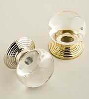 Charles Edwards-Glass Door Knobs and Handles