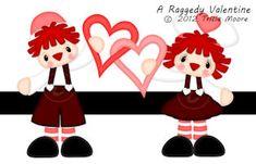 A Raggedy Valentine  1.50