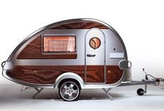 I love these little T@B Teardrop Trailers! How fun.
