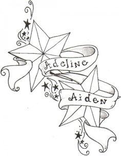 Tatoos On Pinterest Star Tattoos Infinity Tattoos And