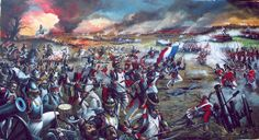 "Giannis Nikou, ""Waterloo"", 350X190 cm, oil on canvas, 2005"