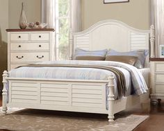 Stroupe California King Panel Bed