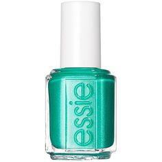 Naughty Nautical:Mermaid tail blue-green shimmer polish, originally part of the Summer 2013 Collection. You name it, Essie has it in her collection: from the p