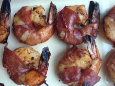 Prosciutto wrapped Shrimp with Smoked Paprika.  Sophisticated, fast and easy (20 minutes total) with only 5 ingredients -- great for the holidays.