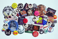 '80s Buttons & Badges | Flickr - Photo Sharing!