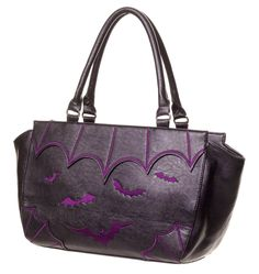 The Violet Vixen - Batty Nights Purple Purse, $61.00 (http://thevioletvixen.com/accessories/purses/batty-nights-purple-purse/)