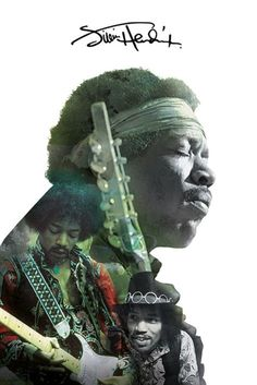 Jimi Hendrix - Double Exposure - Official Poster
