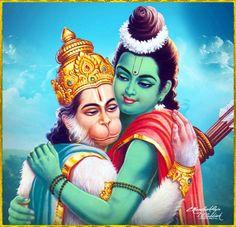 Hanuman et ? Shree Ram Images, Jay Shri Ram, Shri Hanuman, Krishna, Bhagwan Shiv, King Ravana, Rama Sita, Sri Rama, God Pictures