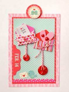 Tag Tuesday with Vicki Boutin featuring Doodlebug Design's Lovebirds line