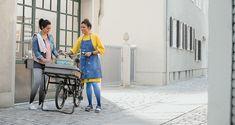 Dip Dye Collection für Strümpfe in der Venentherapie. In den Farben Mohn und Blaubeere Dip Dye, Dips, Collection, Decor, Poppy, Colors, Sauces, Decoration, Dip