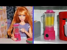 Como fazer um liquidificador para bonecas Barbie e outras - miniatura faça você mesmo - YouTube