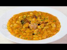 Fasole cu ciolan de curcan | JamilaCuisine - YouTube My Favorite Food, Favorite Recipes, Romanian Food, Romanian Recipes, Bean Recipes, Chana Masala, Recipies, Curry, Food And Drink