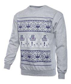 Star Wars: R2-D2 Unisex Christmas Sweater/Jumper - merchoid