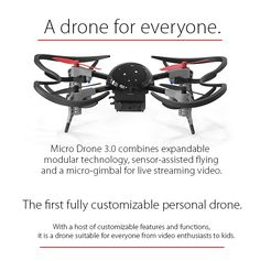 Micro Drone 3.0: Flight in the Palm of Your Hand https://www.indiegogo.com/projects/micro-drone-3-0-flight-in-the-palm-of-your-hand--2?utm_content=buffer79cff&utm_medium=social&utm_source=pinterest.com&utm_campaign=buffer#/story