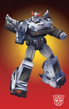 Autobot Prowl G1 by Dan-the-artguy.deviantart.com on @deviantART