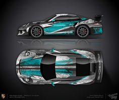 Design concept #22 Race art Porsche 911 GT3 RS