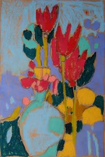 ❀ Blooming Brushwork ❀ - garden and still life flower paintings - Marie Theres Berger