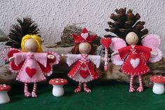 The Enchanted Tree: Valentine Bendy Dolls