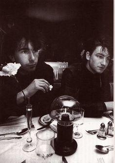The Edge & Bono #U2 youtubemusicsucks.com