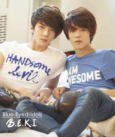 BLUE EYED K-POP IDOLS: #294  HunHan (Oh Sehun + Luhan) - EXO-K/M