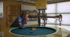 From the Valley Forge data bank Silent running Silent Running, Valley Forge, Geodesic Dome, Robot Design, Poker Table, Architecture, Space, Games, Movies
