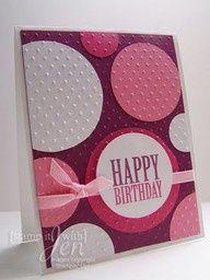 cuttlebug birthday card ideas - Google Search