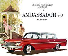 1961 Rambler Ambassador V-8