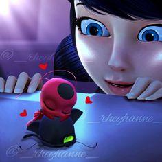 Ladybug Y Cat Noir, Ladybug Comics, Miraclous Ladybug, Tikki Miraculous, Plagg Miraculous, Miraculous Ladybug Toys, Tikki Y Plagg, Funny Instagram Memes, Miraculous Wallpaper