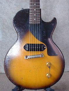 57年製LPjr特集 Gibson Electric Guitar, Gibson Guitars, Electric Guitars, Guitar Amp, Acoustic Guitar, Gibson Les Paul Jr, Les Paul Guitars, Guitars For Sale, Vintage Guitars