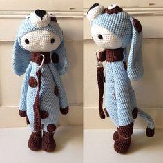 Crochet Pattern Dog Spot - Lalylala Modification