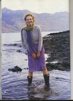 "Photo from album ""Rowan A Season's Tale"" on Yandex. Rowan Knitting, Knitting Designs, Views Album, Mantel, Seasons, Sweaters, Yandex Disk, Knits, Beautiful"