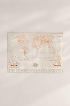 Rose gold scratch off world map gallery wall room decor and room urban outfitters magnetic scratch off world map gumiabroncs Gallery