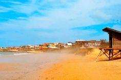 Playa del Rivero, Punta del Diablo.