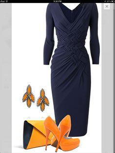 Beautiful and gorgeous dress for assembly